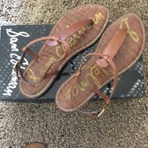 Sam Edelman Gigi sandals in Saddle Size 8